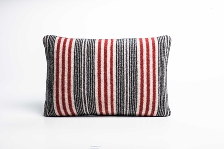 Picture of Small Cushion Tobasco Mixed Stripe