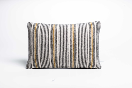 Picture of Small Cushion Mead Fine Stripe