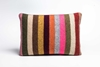 Picture of Large Cushion Smoke Wide Stripe