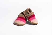 Picture of Baby Shoes Camelia/Red Wide Stripe