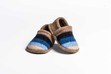 Picture of Baby Shoes Cornish/Navy Wide Stripe