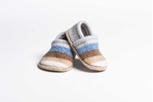 Picture of Baby Shoes Iced/Mouflon Wide Stripe