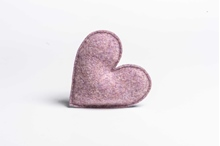 Picture of Lavender Heart Blossom/Grey