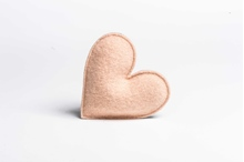 Picture of Lavender Heart Peach/Grey