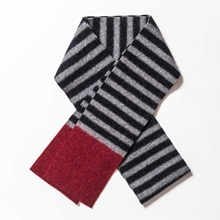 Picture of Skinny Scarves Uniform/Coal/Raspberry