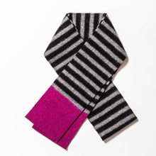 Picture of Skinny Scarves Uniform/Graphite/Cyclamen